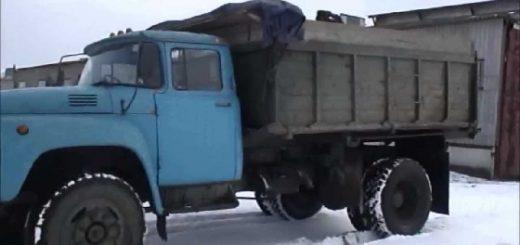 Зил 130 - дизельный самосвал с ДВС ЯМЗ