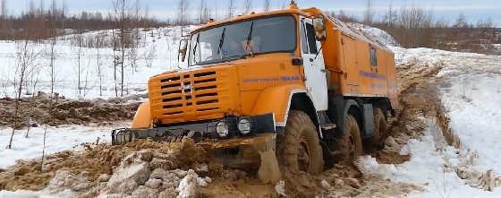 ЗиЛ-4972 на бездорожье