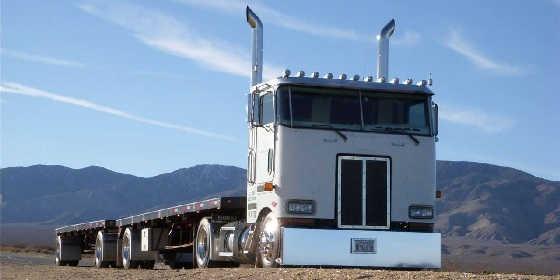 грузовик Peterbilt 362