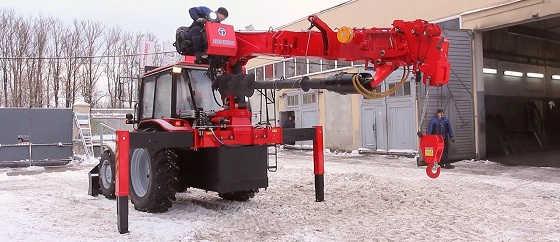 Трактор Беларус 92П с БКУ Taurus 035A