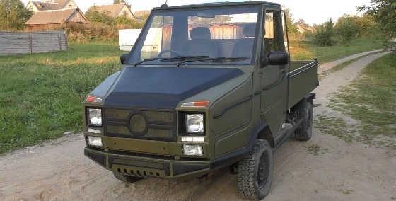 Самодельный грузовик на базе ЛуАЗ-969