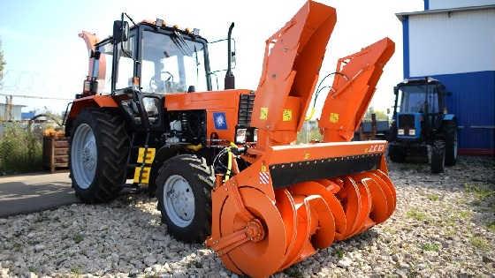 Оранжевый демон Беларус-82.1