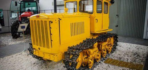 ДТ 54 - Первый советский дизельный гусеничный трактор