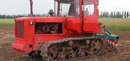 Легендарный гусеничный трактор ДТ-75