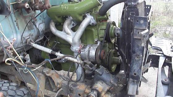 ГАЗ-63 с МЕРСОВСКИМ дизелем