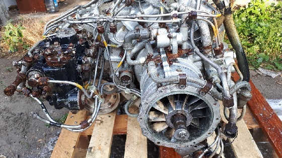 Речной глубоководный газотурбинный двигатель ГТД-350