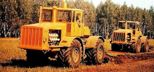 Трактор Кировец первого поколения