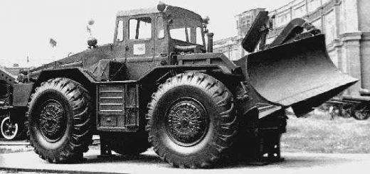 колесный тягач МАЗ/КЗКТ-538