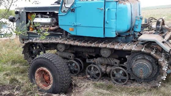 Приспособление для транспортировки гусеничного трактора