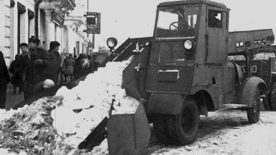 Ламповые снегоуборщики из СССР