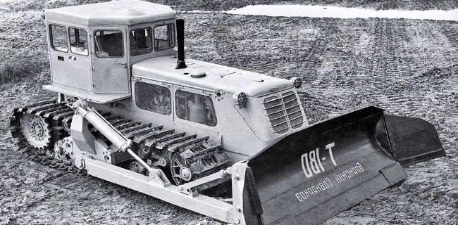 трактор СССР Т 180