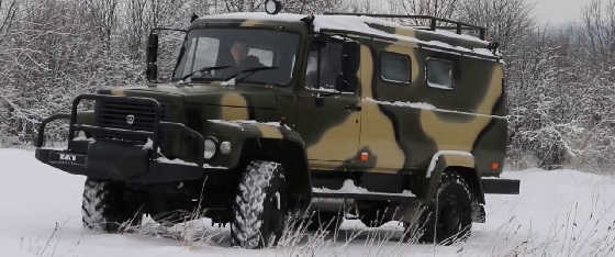 Тест-Драйв ГАЗ 330811