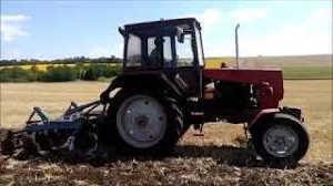 Беспилотный трактор ЮМЗ - 80