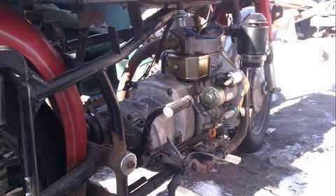 Установка Дизельного двигателя на МТ