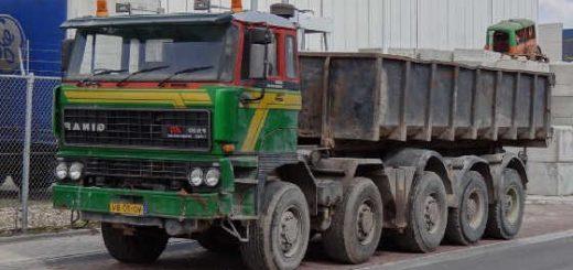 Пять осей для грузовика