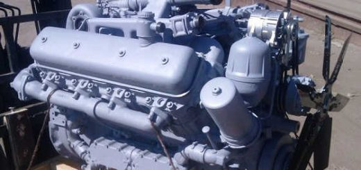 Трактор Кировец: Двигатель ЯМЗ-7511