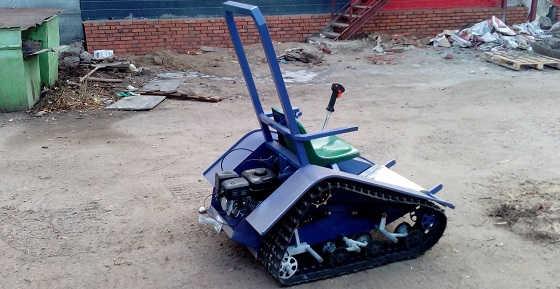 Мини трактор вездеход коммунальный