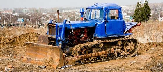 "Трактор ДТ-75. ""Казахстан"""