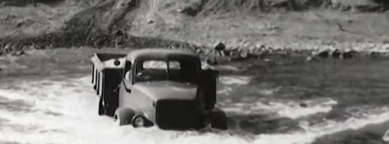 Редкий трехосный ГАЗ 63
