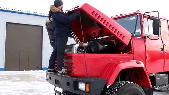 Испытание КрАЗ-6446