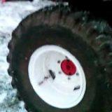 Т-25 Переделка ураловских колёс на трактор