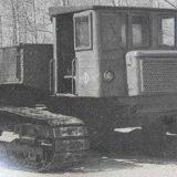 СТГ-4 Забытый гусеничный грузовик из СССР