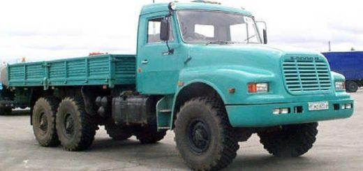Капотный КАМАЗ-4355