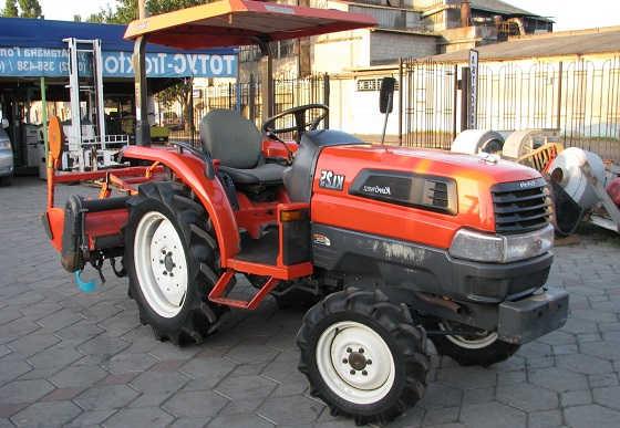 Японский трактор Kubota KL 25