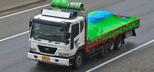 На каких грузовиках ездят в Южной Корее