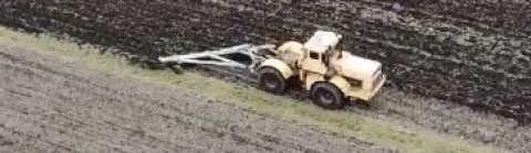 Трактор Кировец: Чизелевание