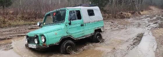 Так ли хорош ЛуАЗ 969 на бездорожье?