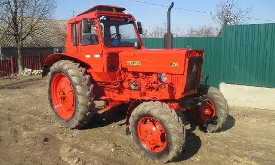 Трактор МТЗ-82 с малой кабиной