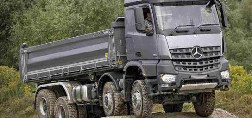 Тяжеловозы Mercedes и Volvo