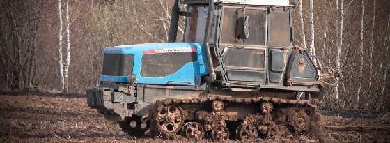 Гусеничные тракторы Агромаш 90ТГ, ДТ-75
