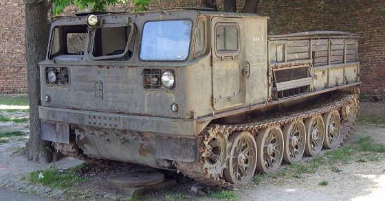 АТС 59 – Быстроходный артиллерийский тягач