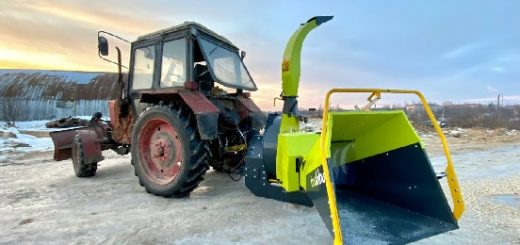Финская рубительная машина JUNKKARI HJ250G