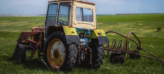 сельхозтехника брошенная