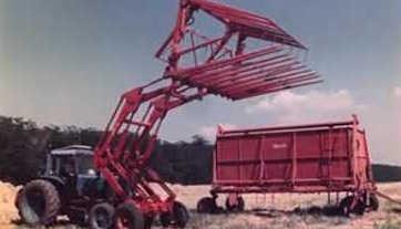 Машины для уборки незерновой части урожая