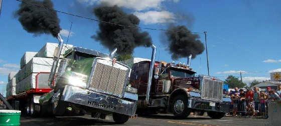Драг рейсинг на грузовиках