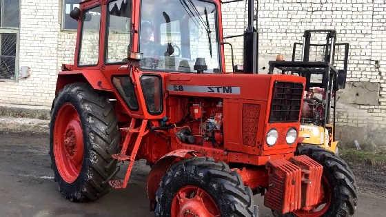 Экспортный МТЗ-82
