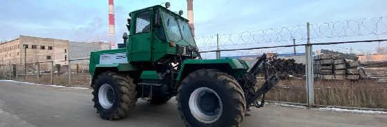 Трактор ХТЗ-150 для расчистки под мульчер