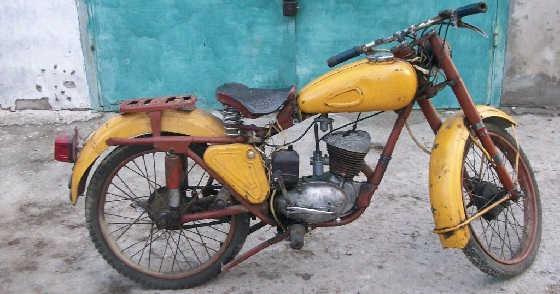 Тест-драйв мотоцикла К-55