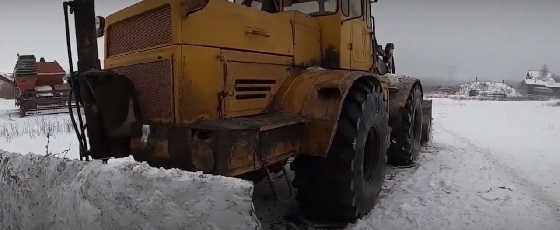 Трактор Кировец: Подготовка к зимнему сезону