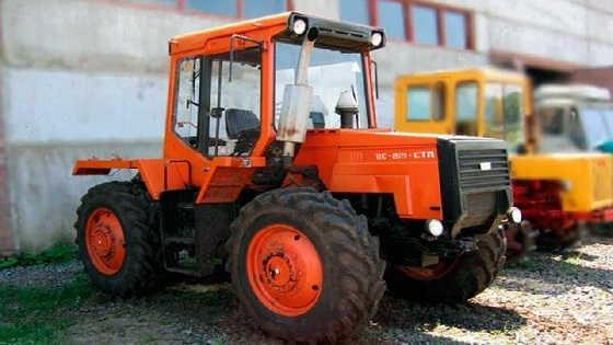 Уникальный советский трактор ЛТЗ-155