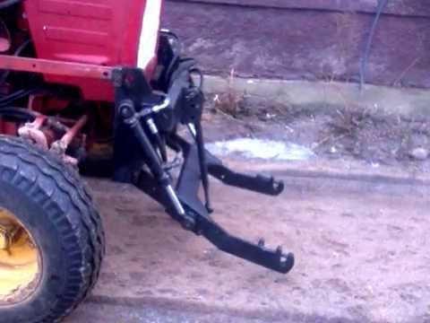 Самодельная передняя навеска трактора т 25