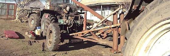 Реставрация Трактора Т150К с двигателем ЯМЗ 236