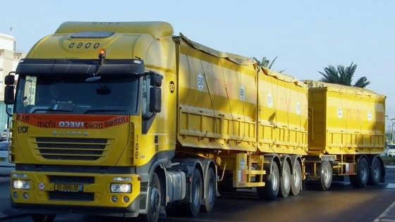 Трехзвенные грузовые автопоезда