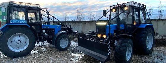 Трелевочный трактор Беларус ТТР-401