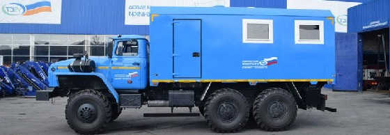 Грузопассажирский Урал 4320-61Е5