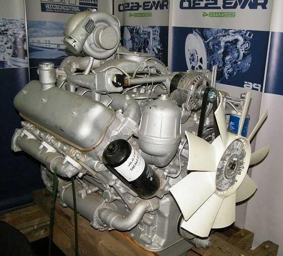 советский дизель ЯМЗ-236